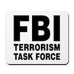FBI Terrorism Task Force Mousepad