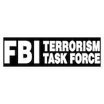FBI Terrorism Task Force Bumper Sticker