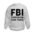FBI Terrorism Task Force Kids Sweatshirt