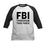 FBI Terrorism Task Force Kids Baseball Jersey