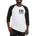 FBI Terrorism Task Force Baseball Jersey