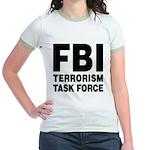 FBI Terrorism Task Force Jr. Ringer T-Shirt