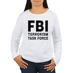 FBI Terrorism Task Force Women's Long Sleeve T-Shi