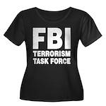 FBI Terrorism Task Force Women's Plus Size Scoop N