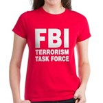 FBI Terrorism Task Force Women's Dark T-Shirt