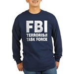 FBI Terrorism Task Force Long Sleeve Dark T-Shirt