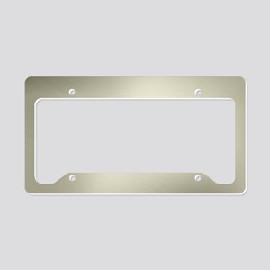 Platina License Plate Holder
