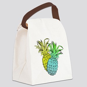 Pineapples Canvas Lunch Bag