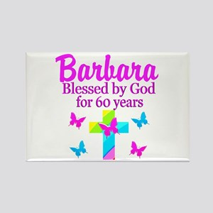 DELIGHTFUL 60TH Rectangle Magnet