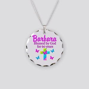 DELIGHTFUL 60TH Necklace Circle Charm
