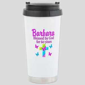 DELIGHTFUL 60TH Stainless Steel Travel Mug