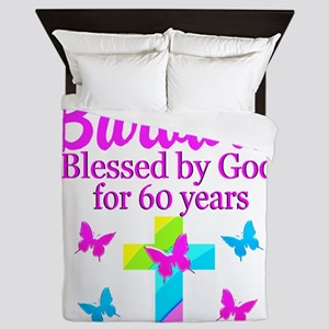 DELIGHTFUL 60TH Queen Duvet