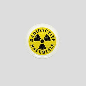 Radioactive Materials Mini Button