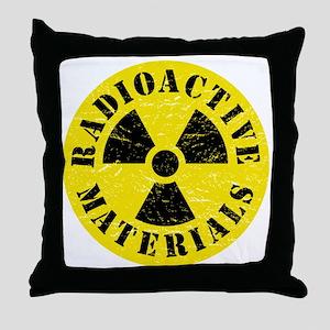 Radioactive Materials Throw Pillow