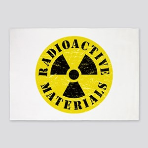 Radioactive Materials 5'x7'Area Rug