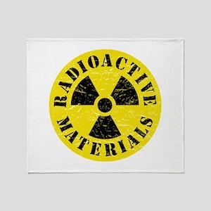 Radioactive Materials Throw Blanket