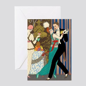 Slice of Life Tango Greeting Card