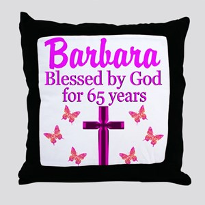 LOVING 65TH Throw Pillow