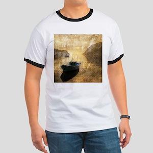 vintage country canoe lake T-Shirt