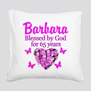 LOVING 65TH Square Canvas Pillow