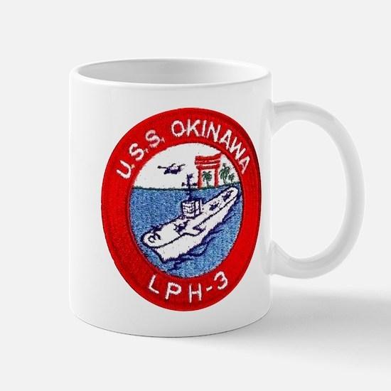 LPH-3 USS Okinawa Mug