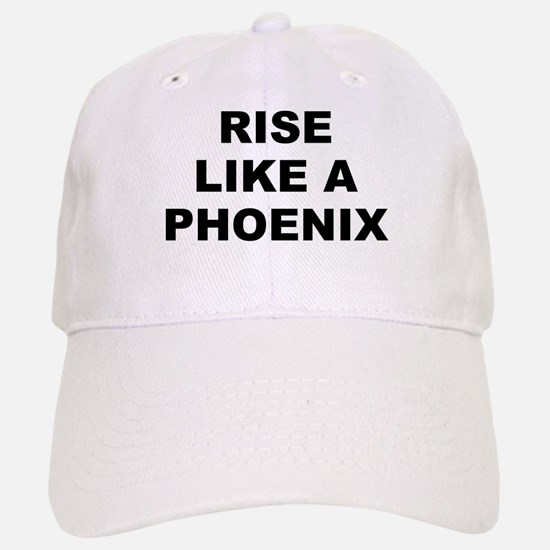 Rise Like A Phoenix Baseball Baseball Cap