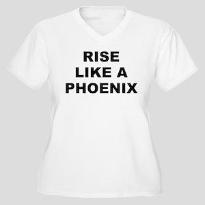 R.l.a.p. Women's V-Neck Plus Size T-Shirt