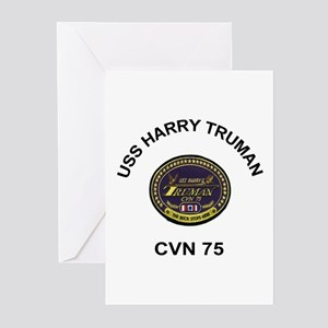 USS Truman CVN 75 Greeting Cards (Pk of 10)