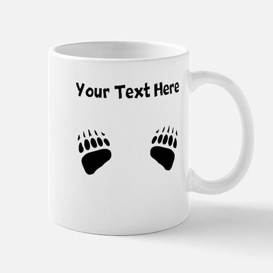 Bear Claws Silhouette Mugs