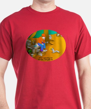 Geocaching Blues T-Shirt