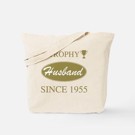 Trophy Husband Since 1955 Tote Bag
