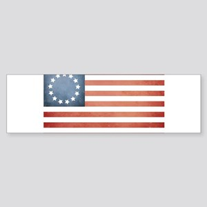 Colonial Flag Bumper Sticker