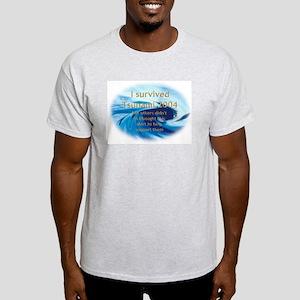 SURVIVED THE TUSAMI 2004 Ash Grey T-Shirt
