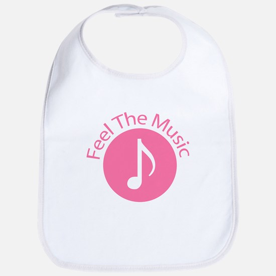 Pink / Feel the Music Bib