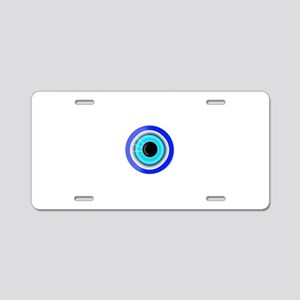 Evil Eye Good Luck Charm Sy Aluminum License Plate