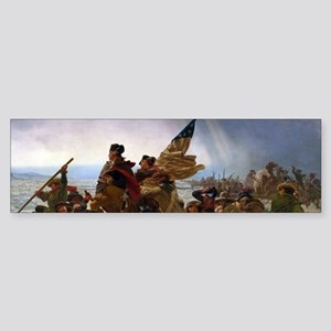 Washington Crossing the Delaware Bumper Sticker
