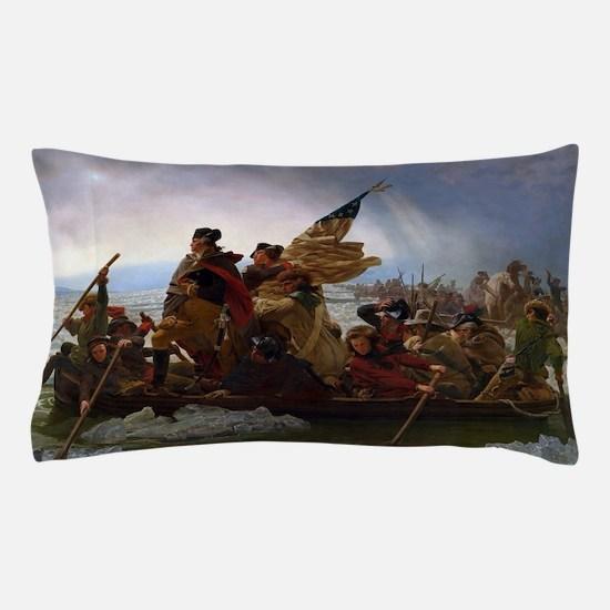 Washington Crossing the Delaware Pillow Case