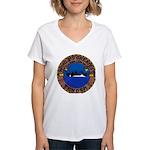USS HOLLAND Women's V-Neck T-Shirt