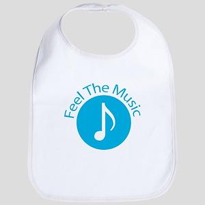 Blue / Feel the Music Bib
