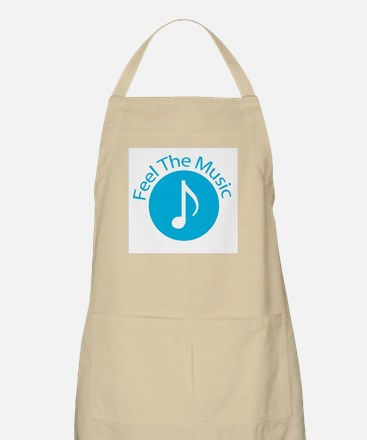 Blue / Feel the Music BBQ Apron