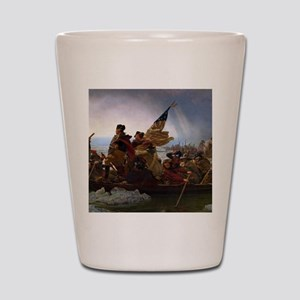 Washington Crossing the Delaware Shot Glass