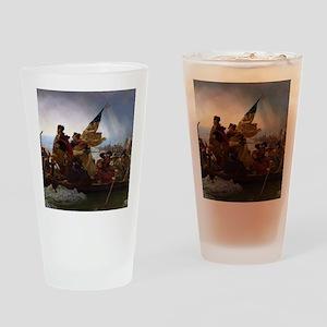 Washington Crossing the Delaware Drinking Glass