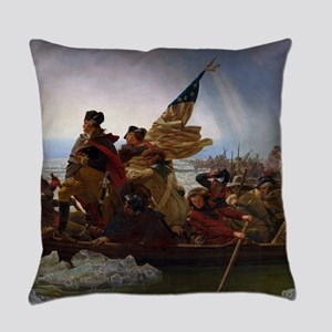 Washington Crossing the Delaware Everyday Pillow