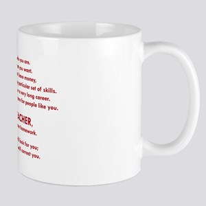 I will find you Do Your Homework Mugs