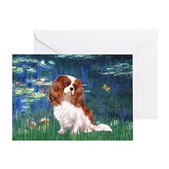 Lily Pond (#5) / Cavalier Greeting Card