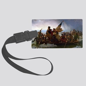 Washington Crossing the Delaware Large Luggage Tag