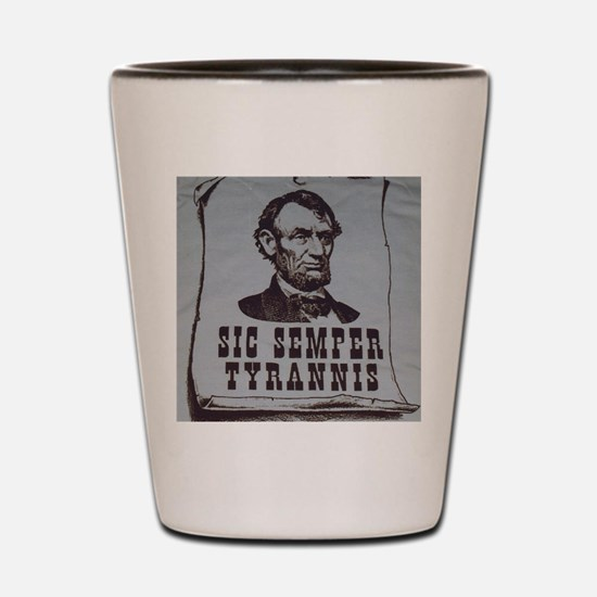 Honest Abe Shot Glass