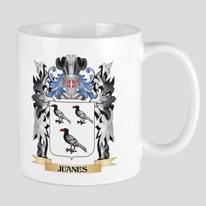 Juanes Coat of Arms - Family Crest Mugs