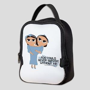 American Horror Story Chibi Tat Neoprene Lunch Bag