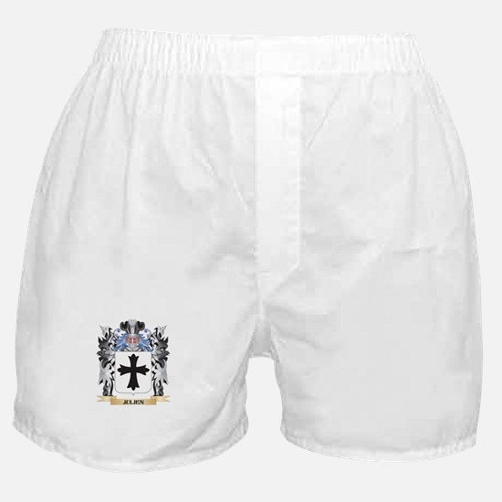 Julien Coat of Arms - Family Crest Boxer Shorts